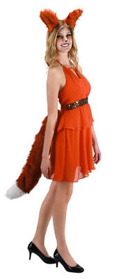 Deluxe Oversized Red Fox Tail Cosplay Halloween Costume Accessory, NEW UNUSED