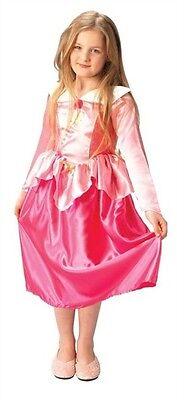 Disney Dornröschen Kostüme (Karneval Kostüm Gr 128 134 Aurora Dornröschen Mädchen Fasching Disney Princess )