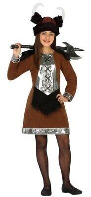 Mädchen Viking Queen Halloween Buchwoche Karneval - Viking Mädchen Kostüm