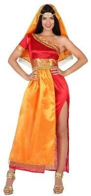 Damen Sexy Bollywood aus Aller Welt Karneval Kostüm Kleid Outfit 8-18
