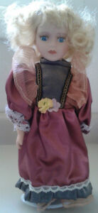 The Princess Collection Porcelain Doll