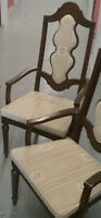 2 chaises capitaine antique retro vintage