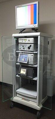 Stryker - 1088 Hd Video Arthroscopy Tower System - Endoscope Endoscopy