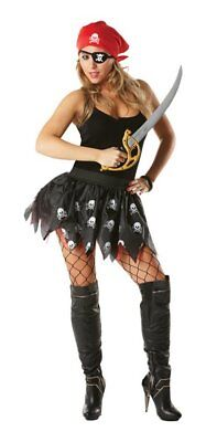 HALLOWEEN COSTUMES PIRATE GIRL TUTU SET SECONDS REDUCED CLEAR CLEARANCE  COSTUME