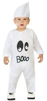 Baby Kleinkind Jungen Mädchen Halloween Boo Geist Karnevalskostüm Kostüm - Geist Halloween Baby Kostüm