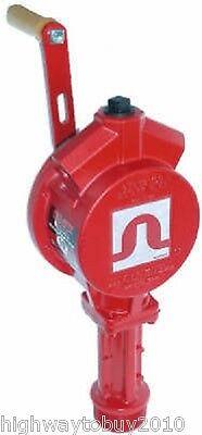 Tuthill Fr112 Fill-rite Rotary Hand Manual Fuel Pump Gasoline Diesel Light Oils