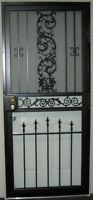 Wrought Iron Storm Doors & Wrought Iron Fences