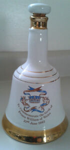 Bells Commemorative Whisky Decanter 1982 Prince William