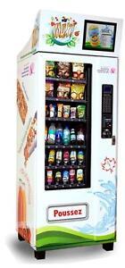 Route de machines distributrices santé :: Healthy vending route