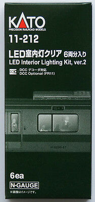 Kato 11-212 LED Interior Lighting Kit (Ver. 2) 6 pcs. replace 11-210 (N scale)