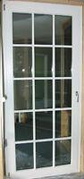 Wood-Aluminum-Clad T&T Patio Door