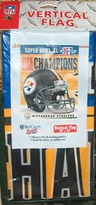 Pittsburgh Steelers Vertical Flag Super Bowl XL London Ontario image 1
