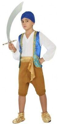 Boys Arabian Around the World TV Film Fancy Dress Costume Outfit 3-12 - Around The World Costumes