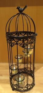 Ornamental Bird Cage with candles