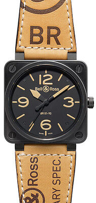BR-01-92-HERITAGE | BELL & ROSS AVIATION HERITAGE | BRAND NEW MENS WATCH