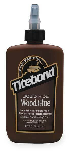 TITEBOND 5013 Glue, Liquid Hide, 8 Oz, Amber