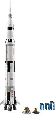 Lego Ideas Set 21309 Nasa Apollo Saturn V Rocket New