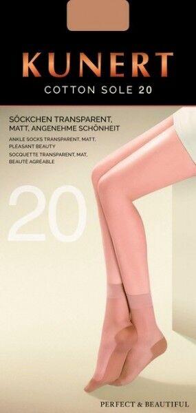 KUNERT Socken / Söckchen COTTON SOLE - 169800