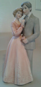 "Enesco Treasured Memories 1981 "" Courting"" Figurine"