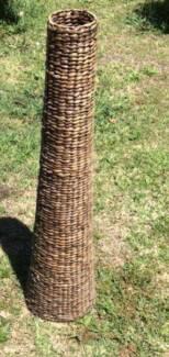 Tall Wicker vase