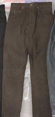 Nubuklederhose LH 07310 von Running Bear, Bikerhose
