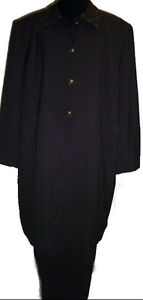 High End Dark Brown Dressy Suit - Plus Size 26W - NEW