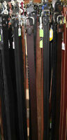 Top Quality Leather Belts. Many styles available. Made in Canada