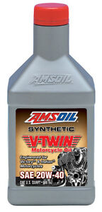 AMSOIL 20W-40 SYNTHETIC MOTORCYCLE OIL IN OWEN SOUND