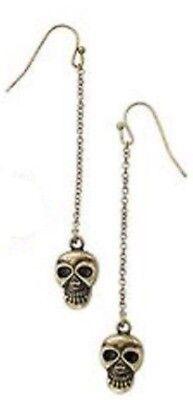 Avon Halloween Motif Earrings Skulls - Halloween Earrings Avon