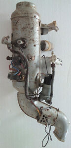 Gas heater from a 1968 Volkswagen beetle