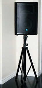 2X Yorkville YX12 Loudspeakers With Stands Kingston Kingston Area image 1