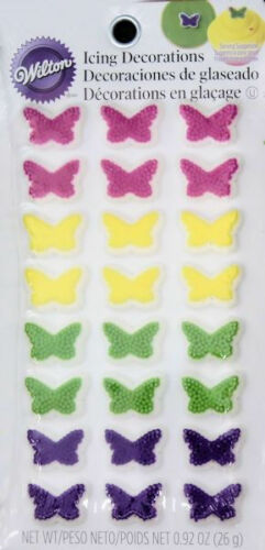 Butterfly Icing Decorations 24 ct from Wilton 0265  NEW