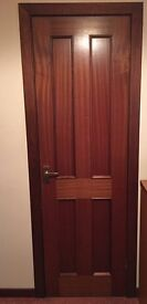 9 Mahogany Doors for sale £150 for all