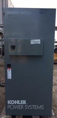 Kohler 400 Amp 480v 60hz 3 Phase Automatic Transfer Switch Ats Sn K21652