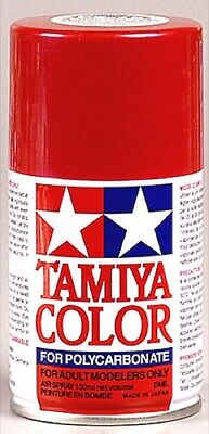 Tamiya 86015 Polycarbonate RC Body Paint 100ml Spray Can PS-15 Metal Red - Red Body Paint