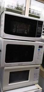 microwave ( working Well) No issue. From 35$ each . Thank you