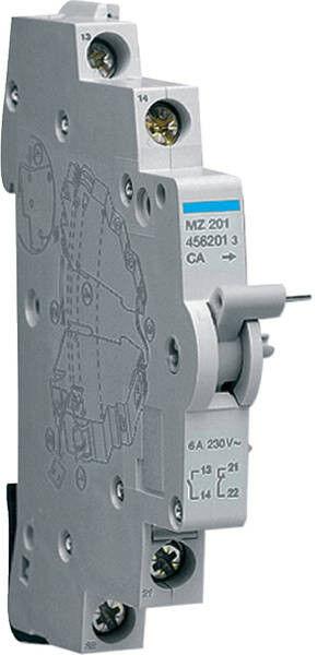 Hager MZ201 Hilfsschalter 1S +1Ö 230V AC 0,5 PLE