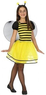 Girls Bumble Bee Mini Beast Insect + Wings Book Day Fancy Dress Costume Outfit ()