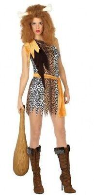 Damen Sexy Höhlenmädchen Höhlenfrau Höhlenmensch Kostüm Kleid Outfit - Sexy Höhle Frau Kostüm