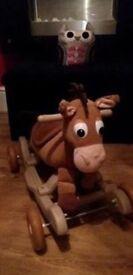 Ride on Bullseye horse