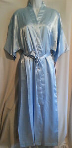 Satin Nightgown, Robe and Hanger Gift Set -Various Sizes,Colours