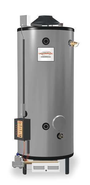 Rheem-ruud 100 Gal. Commercial Gas Water Heater, Ng, 199900 Btuh, G100-200