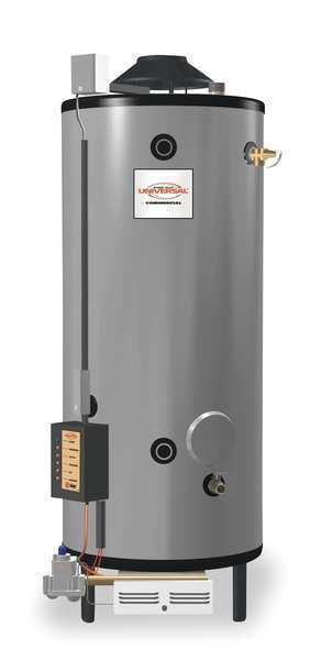 Rheem-ruud 82 Gal. Commercial Gas Water Heater, Ng, 156000 Btuh, G82-156