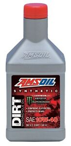 AMSOIL 10W-40 Synthetic Dirt Bike Oil at ORPS PARTS