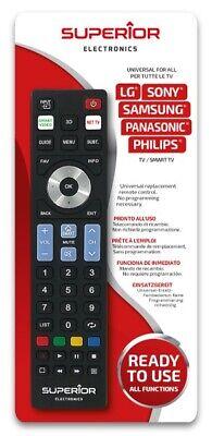 Mando a distancia TV y SMART TV LG SONY SAMSUNG PANASONIC PHILPS...