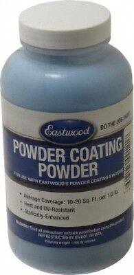 Made In Usa 8 Ounce Polyurethane Dark Blue Ford Paint Powder Coating 10 Squ...
