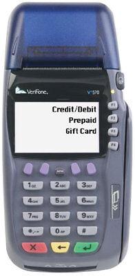 Verifone Vx570dc Credit Debit Card Terminal