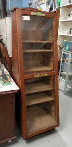 Vintage Manicure Display Case - Blue Jar Antique Mall