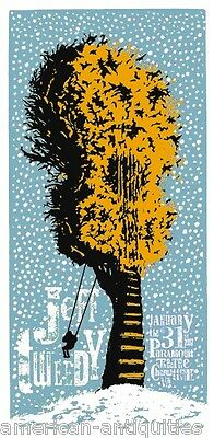 Jeff Tweedy mini Art Poster The Whole Love Wilco Anodyne Sky Blue Sky