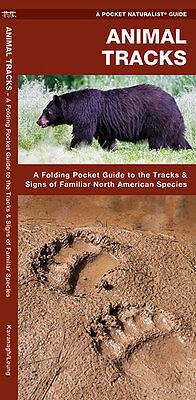 Animal Tracks Wildlife Identifier Emergency Survival Guide Bug Out Bag Kit Book